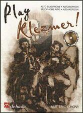 Play Klezmer Alto Saxophone Sheet Music Book & Play-Along CD