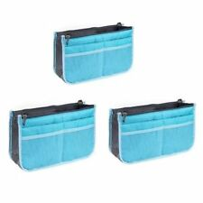 Dual Bag in a Bag Organizer (Blue) Set of 3