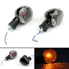 Motorcycle Turn Signal Bullet Lights For Kawasaki Vulcan 900 Yamaha V Star 650