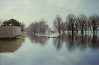 Vintage Photo Slide Onondaga Lake Parkway Flood New York 1993