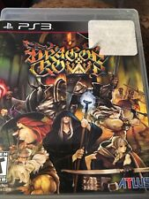 Dragon's Crown (PlayStation 3, 2013) Complete FAST SHIPPING