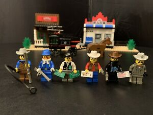 LEGO 6765 Western - Gold City Junction - with Box - 97% Complete - No Manual