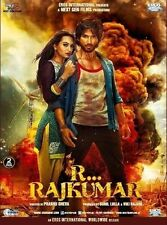 R... RAJKUMAR (2013) SHAHID KAPUR, SONAKSHI SINHA - BOLLYWOOD 2 DISC DVD