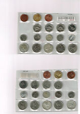 Lot of 17 Clipped Planchet Error Coin - Canada- expo tokens, penny, 5c, 10c, 25c