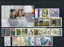 Liechtenstein 1993  Annata completa 24v + 1 Bf MNH