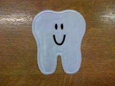 1 x Sew 'n' Iron On Patch Motif Cute Kawaii Tooth