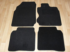 Nissan Note (2006-13) Fully Tailored Car Mats in Black