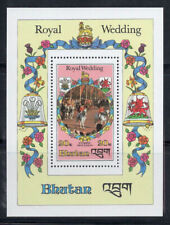 Bhutan 1981 Mi. Bl. 85A SS 100% MNH Royal Wedding