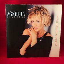 AGNETHA FALTSKOG I Stand Alone 1987 UK VINYL LP EXCELLENT CONDITION ABBA