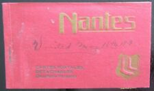 NANTES FRANCE VIEWS 1919 20 DETACHABLE POSTCARDS ANTIQUE BOOKLET