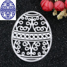 1Pc DIY Metal Easter eggs Cutting Dies Cutters Scrapbooking Stencils Photo Cards