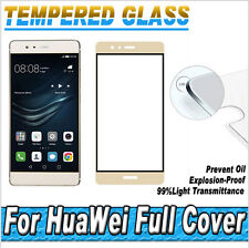 3D Curved Edge Full Cover Tempered Glass Screen Protector For Huawei P9