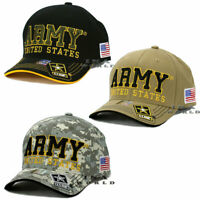 U.S. ARMY Hat Cap ARMY STRONG Official Licensed Embroidery Flag Baseball Cap
