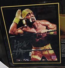 Hulk Hogan Signed and framed 10x8 Photo Wwe Wwf Wrestling Legend + photo proof