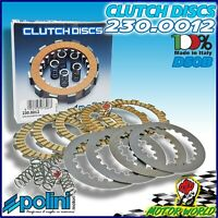 230.0012 Serie Discos Embrague Racing POLINI Derbi Senda 50 R