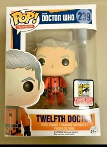 Funko Pop! DOCTOR WHO Twelfth Doctor 2015 SDCC SPACESUIT LE /1008 NIB RARE VHTF