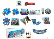 Avengers Marvel Birthday Party supplies Decoration Set for 10 Guest