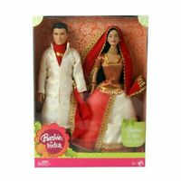 Barbie Barbie and Ken in India Wearing indian costume Design & Color may Vary