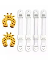 Furnature & Anti Tip Anchors & Door Stoppers Baby Proofing Earthquake 10 Pack