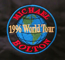 MICHAEL BOLTON nylon official jacket 1996 world tour 2XL embroidery XXL coat