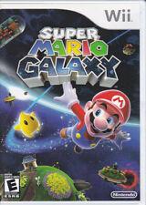 Super Mario Galaxy (Nintendo Wii, 2007) incl. Orginal Case/Manual/Game Disc