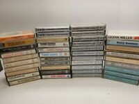 Big Band Era Cassette tape Lot Of 41. Some new. Tony Dorsey, Big band