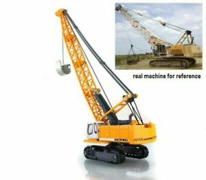 Diecast Lifter Crane Construction Vehicle Cars Model Kids Toy Gift 1:87 Scale