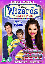 WIZARDS OF WAVERLY PLACE - Series 1 Vol.3 First Season Selena Gomez New UK DVD