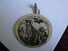 Insigne de journées nationale des tuberculeux14/18 WW1 poilu médaille 1916 rare