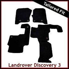 Landrover Discovery 3  Tailored Fitted Carpet Car Mat 2 Clip