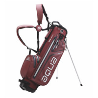 Big Max Aqua 7 100% Waterproof Stand Bag in Merlot/Red New Model Brand New Boxed