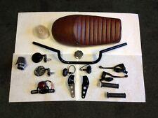 Ultimate Cafe Racer Project Kit ** Seat Handlebar Honda CB Yamaha XS Bobber Brat
