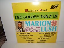 THE GOLDEN VOICE OF MARION LUSH. MEMORIES OF POLAND. LP. DYNO 1604..