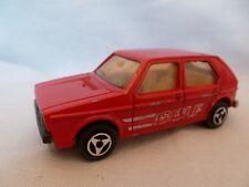 AI695 MAJORETTE VW VOLKSWAGEN GOLF 1/60 REF 210