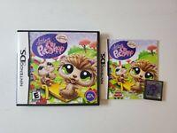 Littlest Pet Shop: Spring (Nintendo DS, 2009) Complete w/ Game, Manual, Case