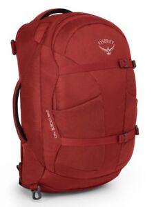 Osprey Farpoint 40 S / M Rucksack Reisetasche Wanderrucksack Tasche Jasper Red