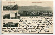 Frankierte Ansichtskarten vor 1914 aus den ehemaligen deutschen Gebieten