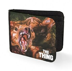the thing wallet credit card horror movie classic art print cult