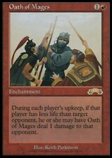 MTG 1x OATH OF MAGES - Exodus *Rare Damage NM*
