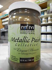 Modern Master metallic latex paint (colour GREEN GOLD)