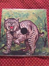 Vintage NOS Pack Of 4 Bobcat Targets 12 Inch By Saunders Archery Rifle Air Guns