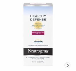 Neutrogena Healthy Defense Daily Vitamin C & Vitamin E Face Moisturizer with SPF
