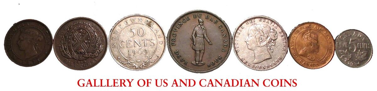 Gallery of US and Canadian Coins
