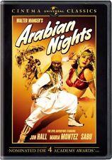 ARABIAN NIGHTS (JON HALL-MARIA MONTEZ) COLOR NEW AND SEALED