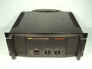 Yamaha Pc4002 Power Amplifier working no problems