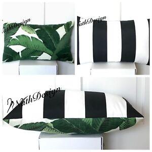 Tommy Bahama Indoor/Outdoor Tropical Lumbar Cushion Cover