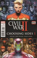 Civil War II Choosing Sides #1 (Of 6) Comic Book 2016 - Marvel