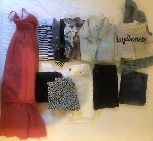 19 Pieces Size 8 Designer Clothing Bundle. Witchery, Seed, Decuba, Wayne Jnr,
