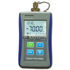 Fiber Optic Test Digital Handheld Optical Power Meter 7010 Dbm Fc Adaptor