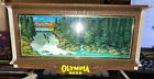 Old Stock Olympia Beer Waterfall Motion Light Cash Register Light In Box